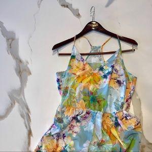 Amanda Uprichard Floral Dress